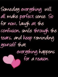 everything happens for a reason: Favorite Sayings, Life, Truth, Inspirational Quotes, Church Quotes, Quotes Thoughts, Quotes Sayings Phrases, Favourite Quotes