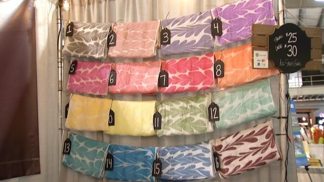 Creating Colorful Silk Scarves At The Tulsa State Fair - NewsOn6.com - Tulsa, OK - News, Weather, Video and Sports - KOTV.com |