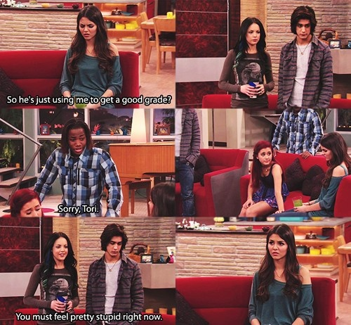 tori and beck dating in victorious I do not own the rights to victorious or any of it's characters i dunno tori, she talks about your sister the same way she talked about you before dating you beck oliver theslap status.