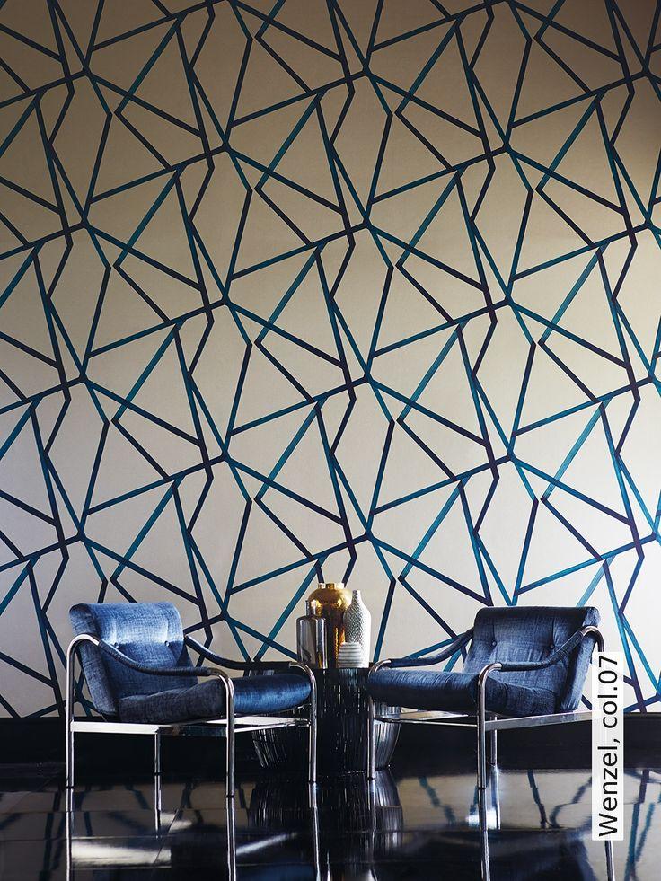 Die besten 25+ Harlekin tapete Ideen auf Pinterest Luxus-Tapete - wohnzimmer tapete grun