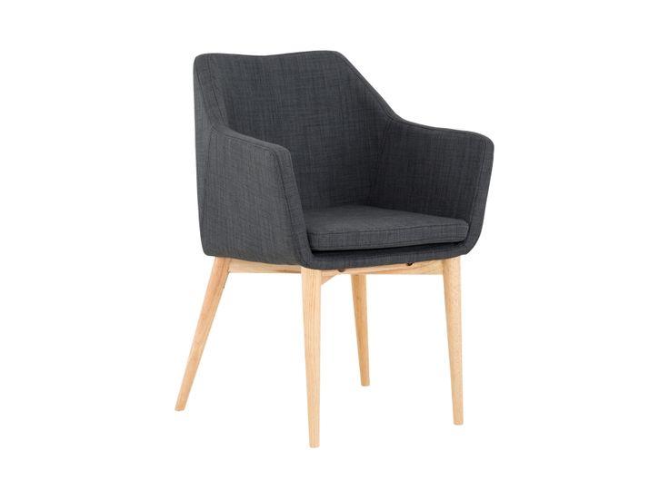 LOLLY Stol Mørkegrå i gruppen Innendørs / Stoler / Spisestuestoler hos Furniturebox (100-75-97484)