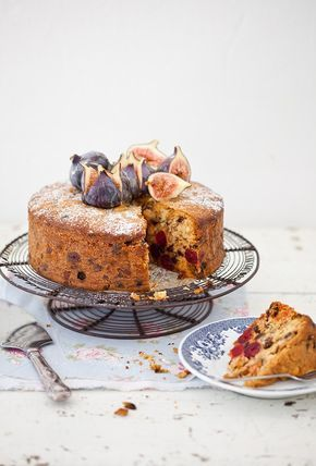 My farourite easy fruit and nut cake