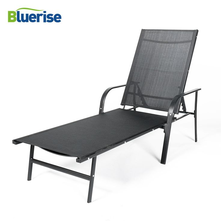 Buy BlUERISE Furniture Sun lounger Black Outdoor Chaise Lounge Durable UV Protected Textilene Mesh Fabric Recliner chair beds ….. Click link to buy….. #home #garden #outdoor #spring #hammock #hanging #airpump #costway #umbrella #furniture