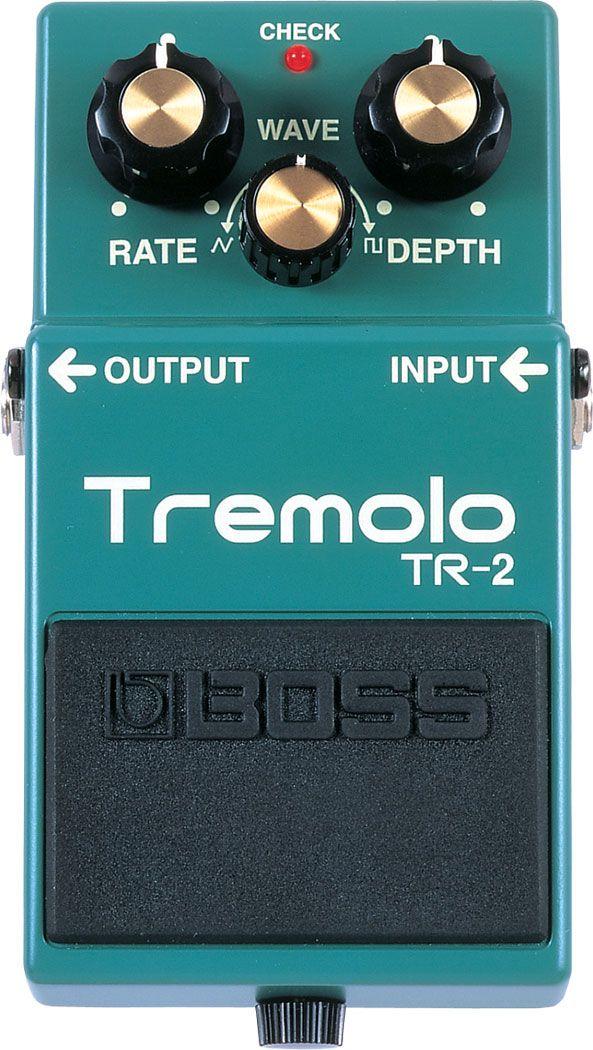 BOSS - TR-2 | Tremolo http://www.ebay.co.uk/itm/Boss-TR-2-Tremolo-Pedal-with-Volume-Mod-/281779763842?hash=item419b61fa82 £49