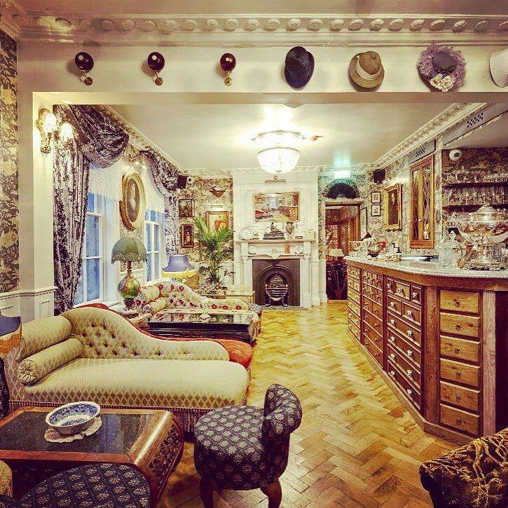 Housed within Mr Fogg's Tavern is Aunt Gertrude's Salon, a gin parlour salon, offering more than 300 gin and 25 types of tonics.   For more specialists around the world, visit http://www.IWantToTaste.com