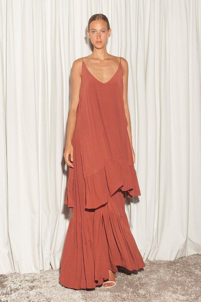 S/W/F - Alexia Dress - Salmon