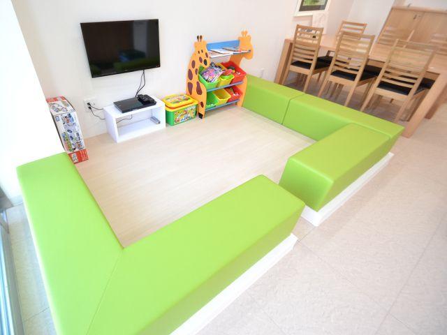 【藤和ハウス日野店 キッズスペース写真】 店舗内にはキッズスペースもご用意しておりますので、小さなお子様がご一緒でも安心です。 http://www.towa-house.co.jp/hino/