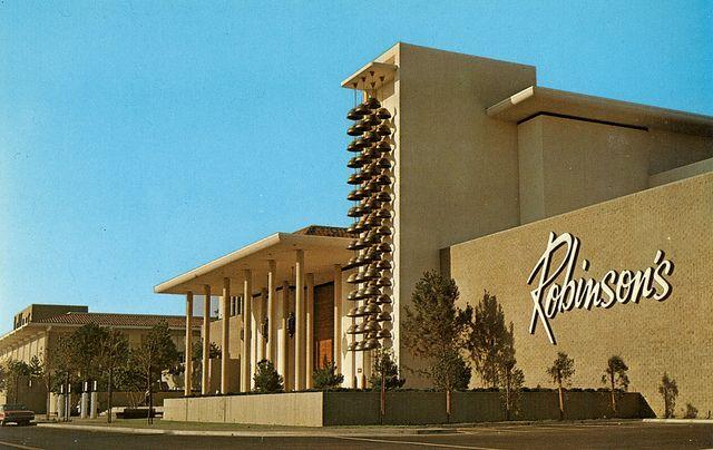 Robinson's - Newport Beach (#09),   Fashion Island, Newport Beach, CA (1967, SF: 235,000)  Designed by Welton Becket and William Pereira.