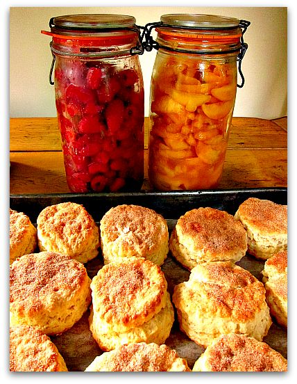 Buttery shortcake Biscuits for Breakfast (Lunch and Dinner)