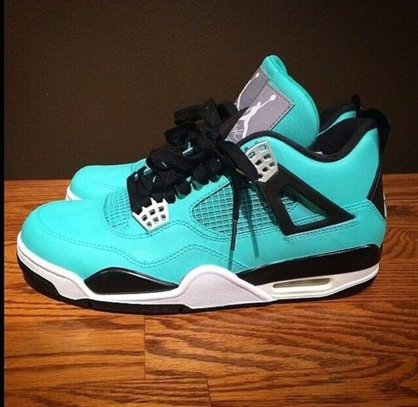 jordan teal Shoes | shoes jordans blue light blue turquoise green trainers teal black lace ...