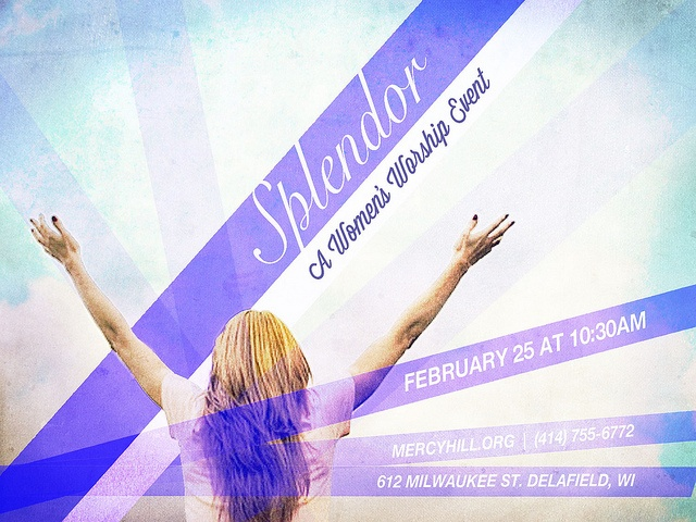 women's worship event
