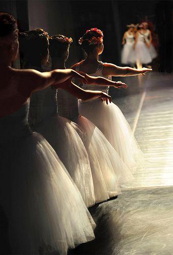 ♫♪ Dance ♪♫ ballet girls enter, stage left by Rick Elkins