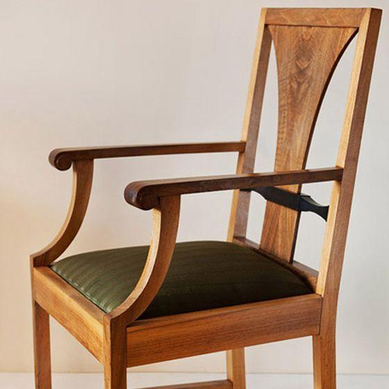 Krzesło z gabinetu męskiego  Józef Czajkowski 1915 r.