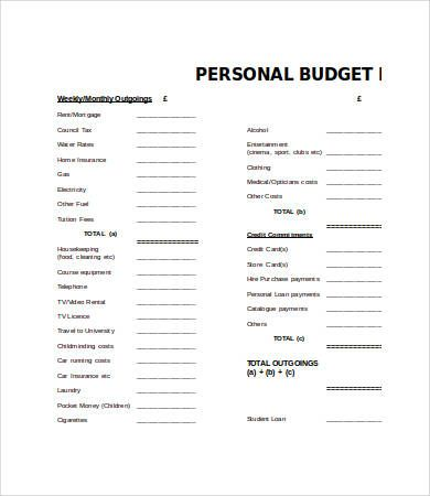 Personal Budget Template Word , Training Budget Template , How to Make Training Budget Template When you have a sport team or other kind of activities which will need training, here, you will get a better con...