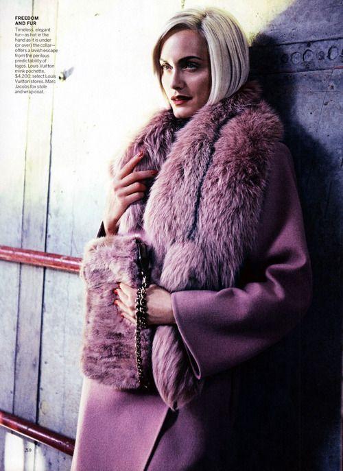 .: Mikael Jansson, Vogue, Michael Jansson, Amber Valetta, Fur, Amber Valletta, Fashion Editorial, Status Updates, August 2013