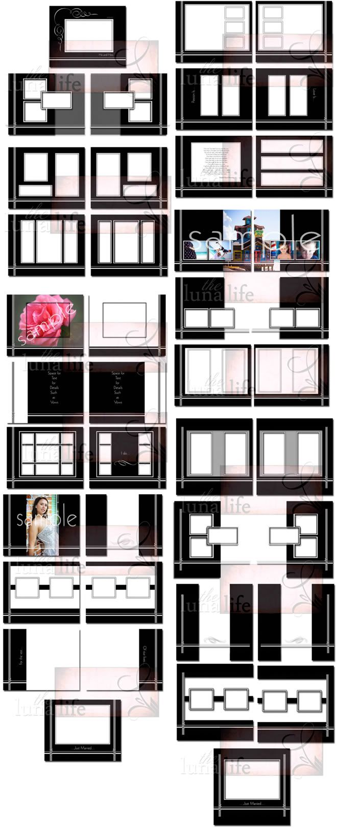 Wedding Album Design Ideas wedding album design Wedding Album Page Layout Google Search