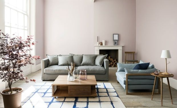 Painterly pastels - living room design trends 2014, decorating a living room