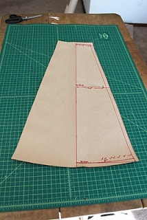 Tutorial for wrap skirt pattern making & construction