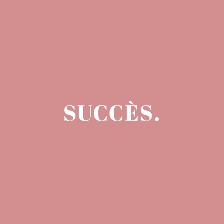 Les Françaises sont de vraies #GirlBoss !✨ Elles ne rêve pas du succès : elles travaillent pour! [Remix de la citation d'Estée Lauder] • #FrenchiesDoItBetter