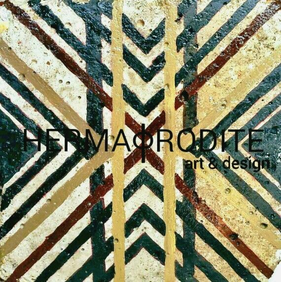 Hermaphrodite(art & design).My artwork cement cube.2014.
