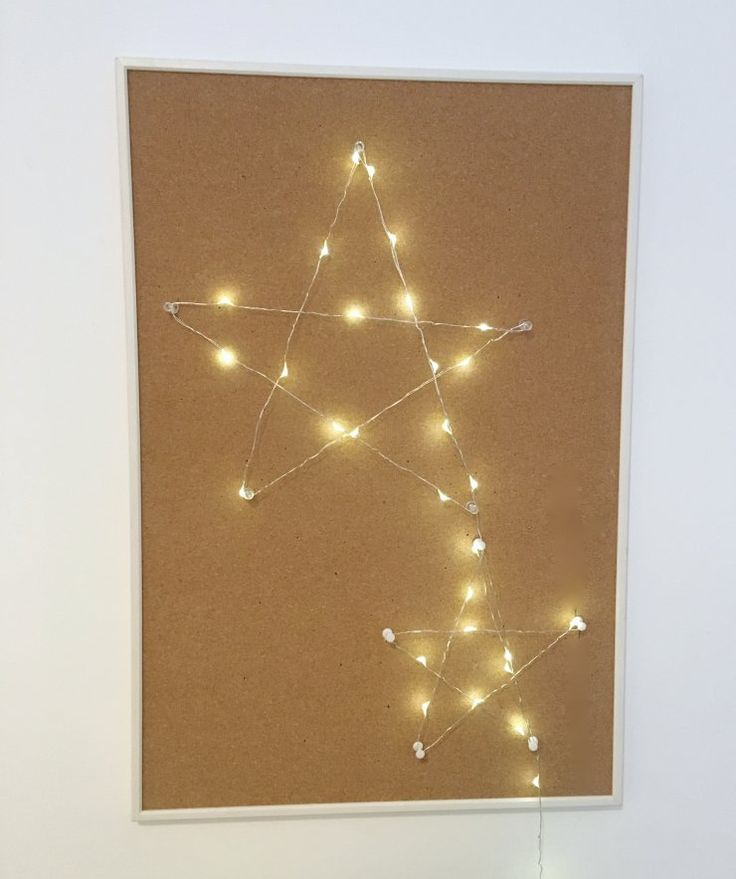 WIRE LIGHTS XMAS CRAFTS | Mommo Design