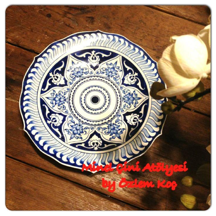 Ottoman plate by özlem koç