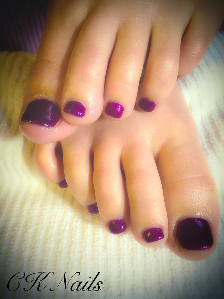 Shellac Toes-Tango Passion