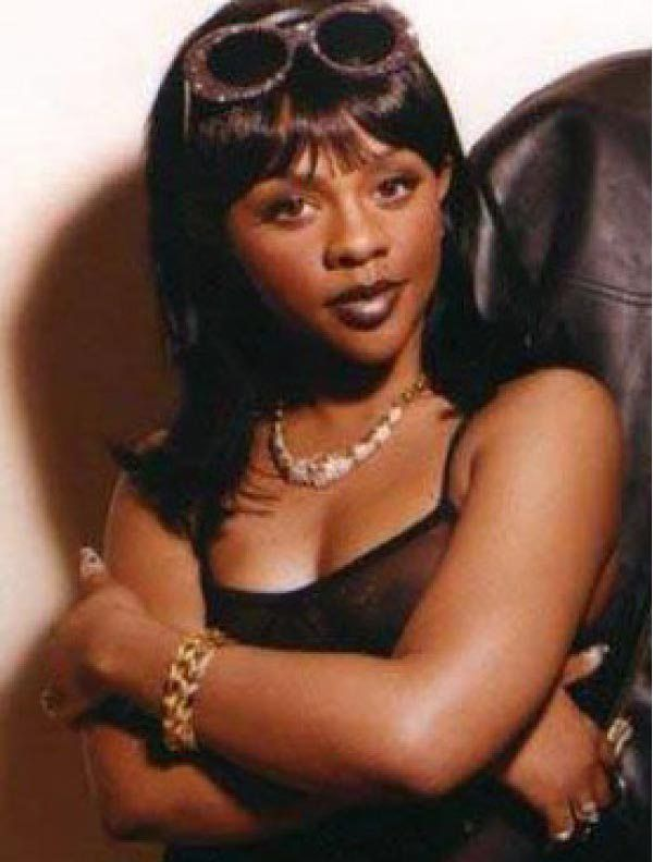 Lil Kim in the 90s