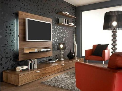 Lushome shares modern ideas and tips for living room furniture placement and positioning the TV on the wall. These ideas demonstrate how to create comfortable seating areas and very attractive and functional living room designs. Modern living rooms with the TV feature family friendly atmosphere and