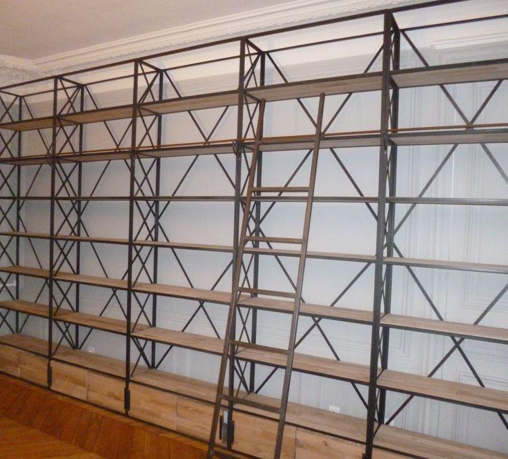 17 meilleures images propos de bibliotheque sur. Black Bedroom Furniture Sets. Home Design Ideas