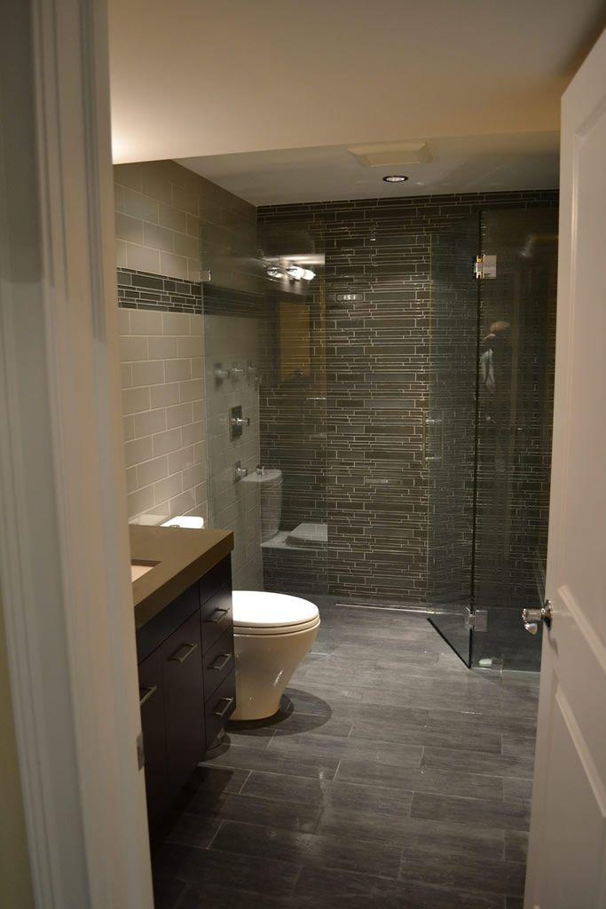 Best Basement Bathroom Ideas Images On Pinterest Bathroom - Basement remodeling chicago