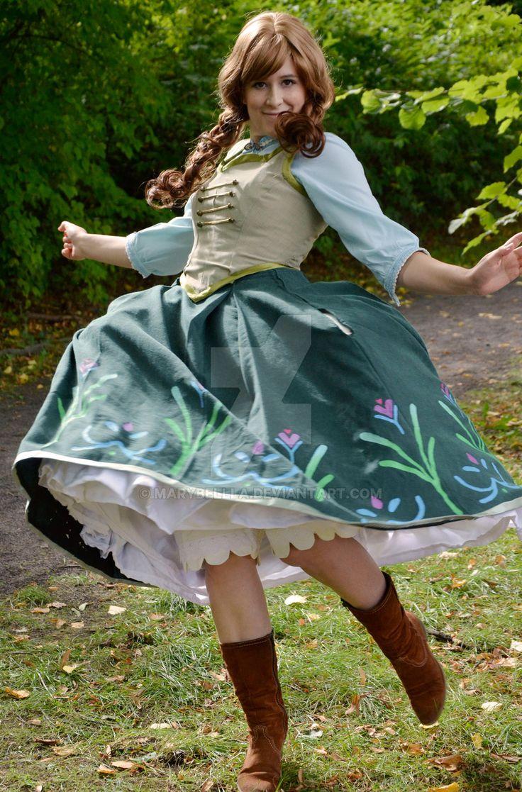 57 Best Cosplay Frozen Anna Summer Dress Images On