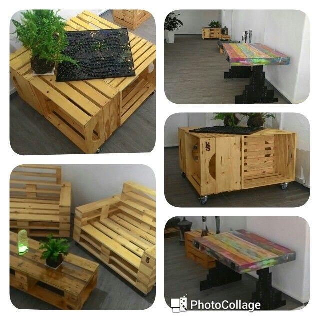 Nábytek z palet, paletovy nábytek, dřevěný nabytek , design furniture
