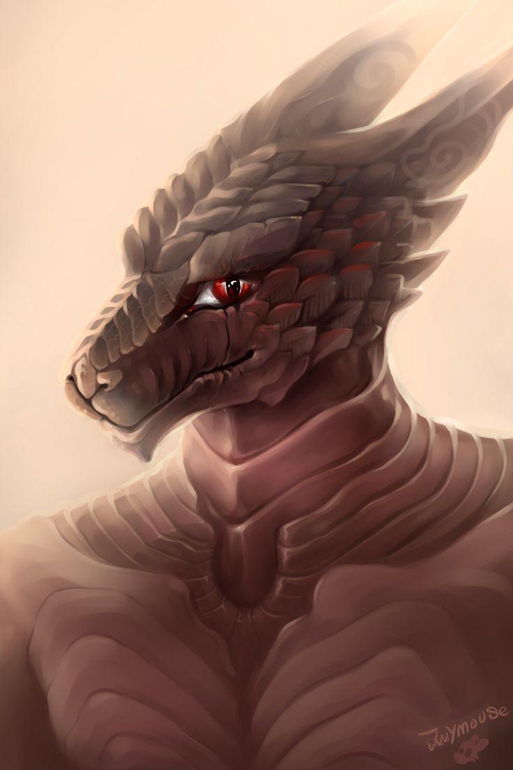 Comission art dragon