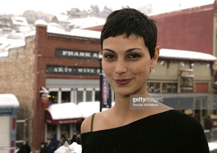 Actress Morena Baccarin of 'Death in Love' poses at the Sky 360 Delta Lounge during 2008 Sundance Film Festival on January 21, 2008 in Park City, Utah.
