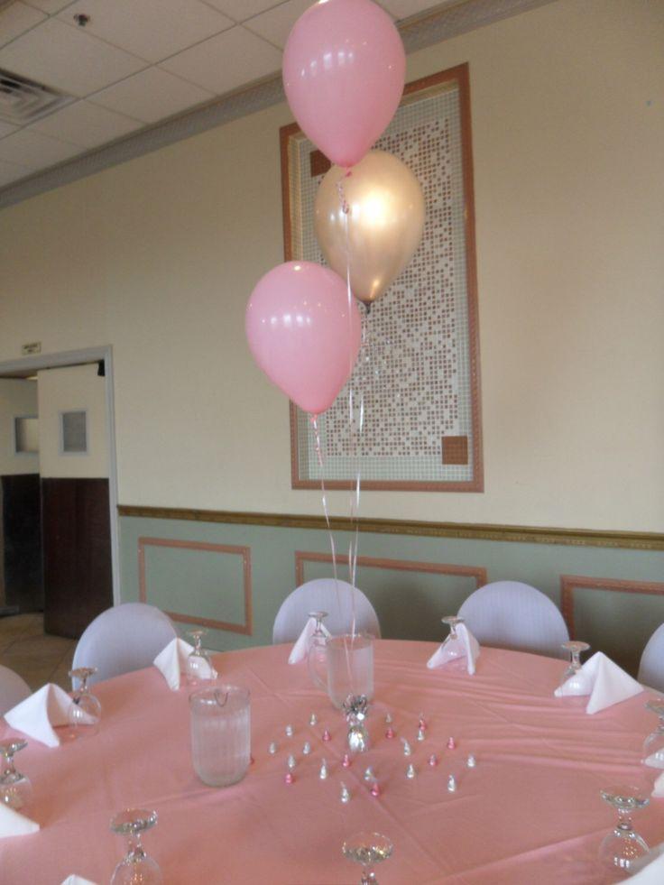 The 25 best christening balloons ideas on pinterest for Balloon decoration for christening party