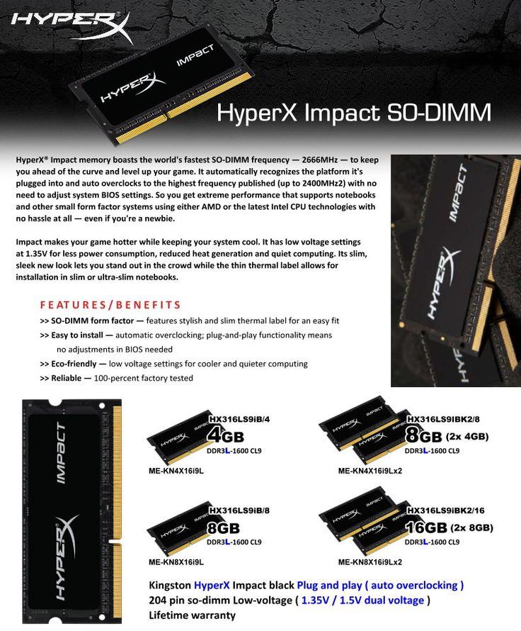 HYPERX IMPACT SO-DIMM
