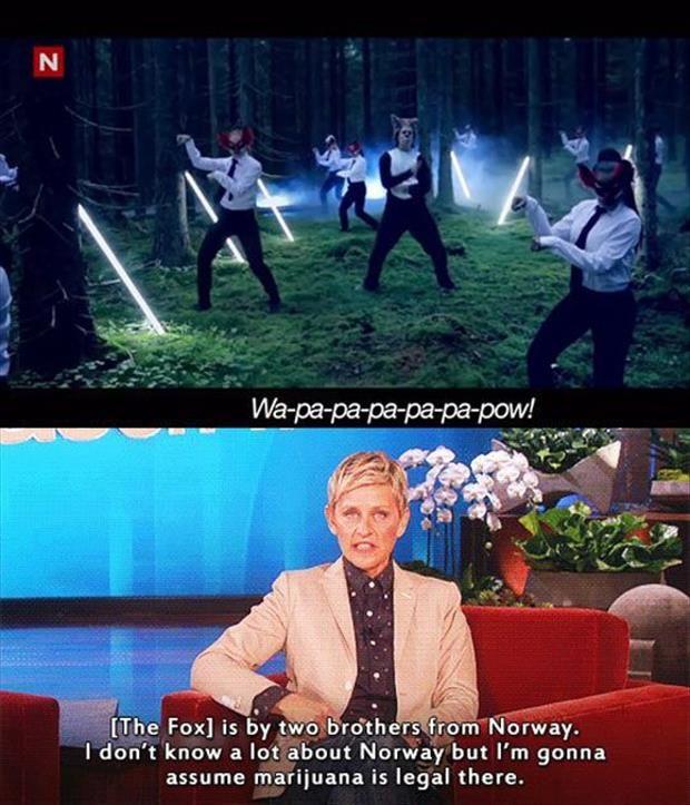 Hahahaha....oh Ellen