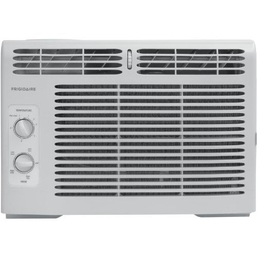 Frigidaire's FFRA0511Q1 5,000 BTU 115V Window-Mounted Mini-Compact Air Conditioner is perfect for cooling a room up to 150 square feet. It quickly cools a room on hot days and quiet operation keeps yo...