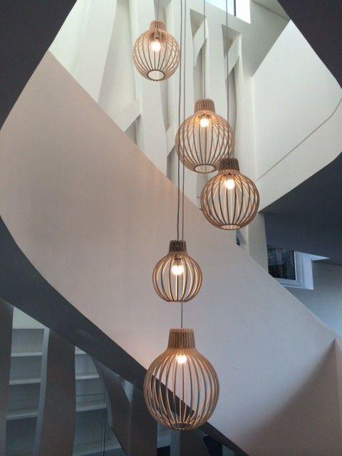 bespoke timber lights by minima