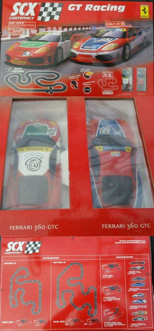 1970-Now 152936: Scx 1:43 Slot Car Set Ferrari New In Box (Nib) -> BUY IT NOW ONLY: $129 on eBay!