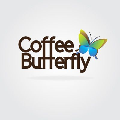 Coffee Butterfly - Logo Design