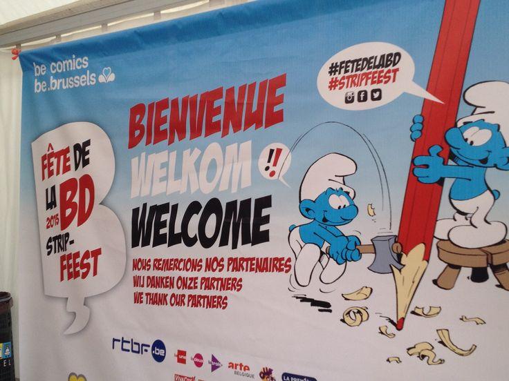 Comic Books Make Brussels a Fun City to Visit