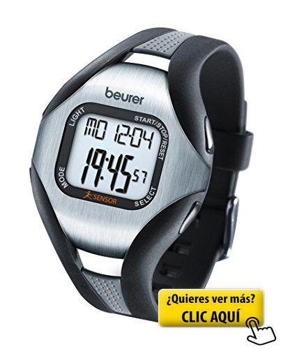 Beurer PM-18 - Pulsímetro sin correa pectoral,... #pulsometro
