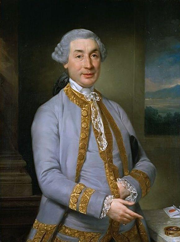 Portrait de Charles Bonaparte, père de Napoléon.