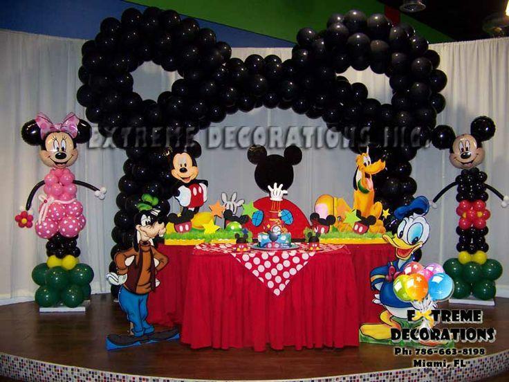 241 best cumpleaos de Mickey images on Pinterest Birthdays