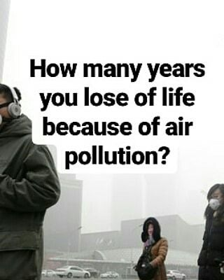THIS IS HOW YOU DIE EARLY !! World Health Organisation (WHO) and UN Environment believe that air pollution is the biggest environmental threat to today's world. Air pollution cuts three years from your life if you live in China and four if you are in India.  And if you live in the Indian capital Delhi almost you lose 10 years of your life due to pollution.  #environmentalist #Environment #solar #solarenergy #india #policy #blog #wordpress #ActOnClimate #air #airpollution #emission #unfccc…