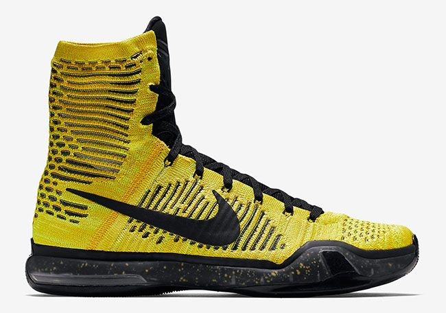 Nike Kobe 10 Elite Opening Night Colorway: Tour Yellow/Volt/Black Release Date: November 27, 2015