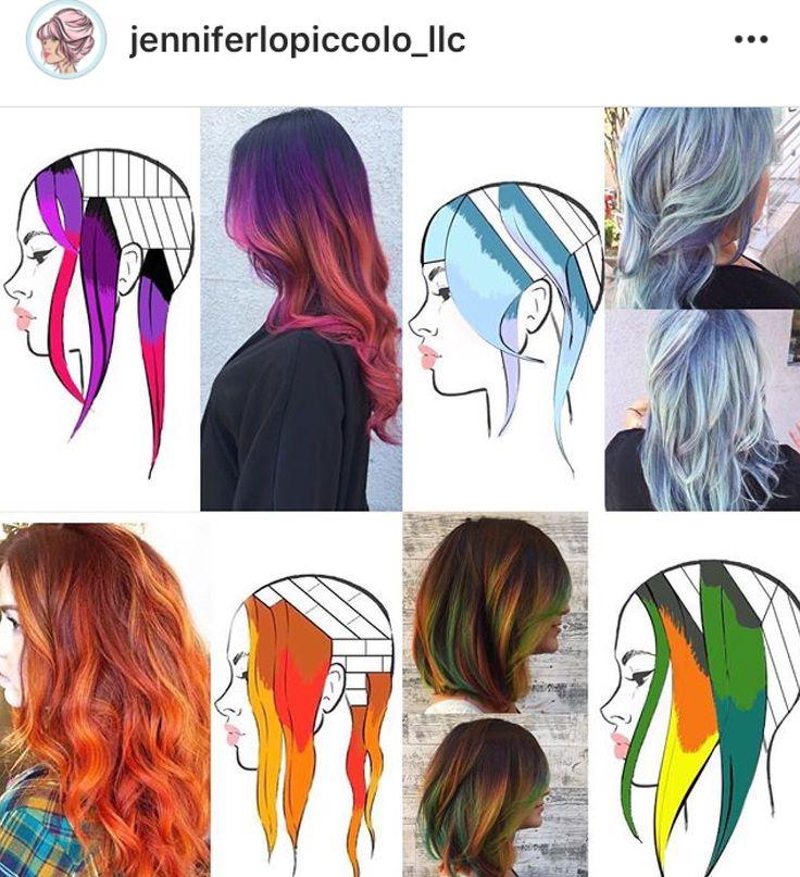 34 best Hair Color Techniques images on Pinterest   Hair colours ...