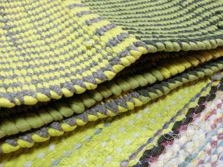 Räsy- ja trikoomattoja kangaspuilla